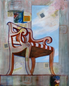 """Big Chair (Thomasville)""  (c)Katy Allgeyer"