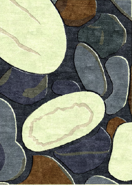 Beach Stones Rug By Katy Allgeyer
