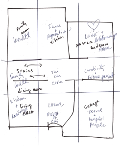 Baqua Map Overlay of Marni's Home