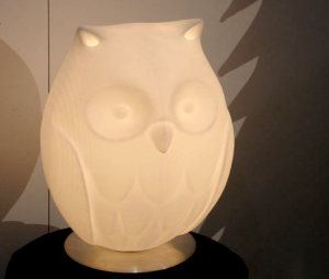 Night Owl Lamp by Rick Lee.