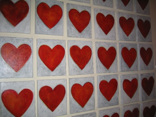 Love Power Hearts