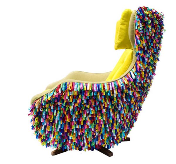 I Could See Dr. Seuss Sitting In This Chair Dreaming Up His Next Book. Or  Erica Wilson Curled Up In This Chair With One Of Her Famous Needlepoint  Designs.