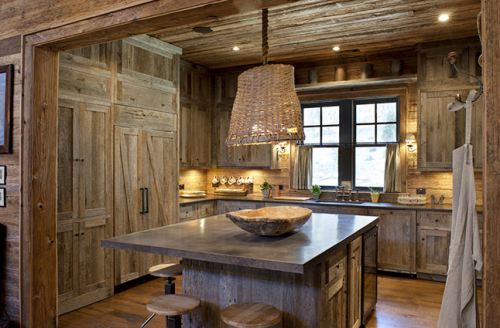 Barnboard Kitchen A Knockout Feng Shui By Fishgirl