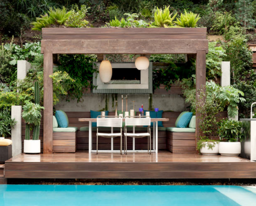 POOLSIDE CABANA | Feng Shui By Fishgirl